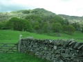 Stone fence--common property boundary marker in the Lake District