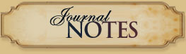 Journal Notes from Author Cathy Gohlke