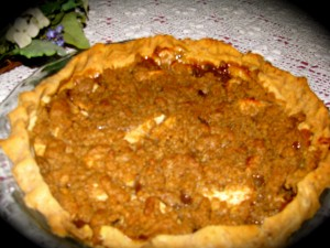 Colonel Wakefield's Favorite Apple Crumb Pie Recipe by Cathy Gohlke